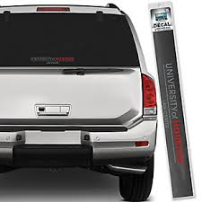 University Of Houston License Plate Frames Car Decals And Stickers