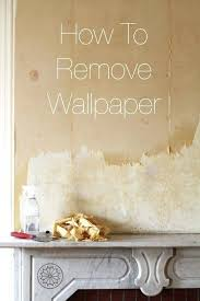 removing wallpaper with downy 52
