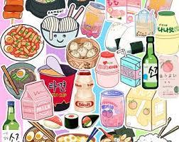Food Decals Etsy