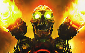 doom game skull hd games 4k