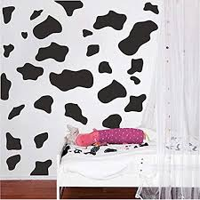 Amazon Com Byron Hoyle Animal Wall Decal Print For Bedrooms Cheetah Spot Animal Stickers Cow Print For Kids Walls Cheetah Print Bedroom Decals Animal Print A01 Home Kitchen