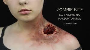 zombie bite sfx makeup