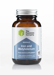 natural iron molybdenum supplement