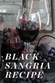black sangria recipe sugar and charm