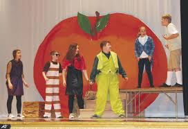 """Corry Area Middle School presents """"James and the Giant Peach Jr."""" 
