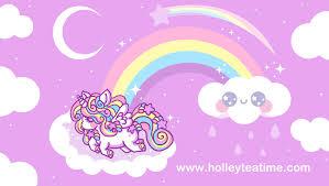 rainbow unicorn pegs by miemie chan3