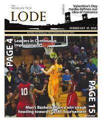 02/17/2015 by Michigan Tech Lode - issuu
