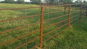 Continuous Fence Panels On Sale 5 Bar Evans Pipe Steel Co Facebook