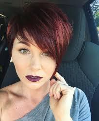Pixie Shorthair Redhair Fryzury Fryzura Pixie Krotkie Fryzury