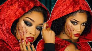 lil red riding hood halloween makeup