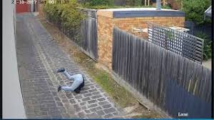 Alleged Burglar Stumbles Climbing Fence After Ransacking Caulfield North Home Youtube