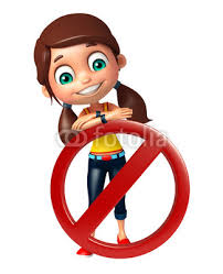 Kid Girl With Stop Sign Sticker Wall Decals Wallsheaven Visible3dscience