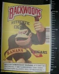 Backwoods Cigars Banana Donkey Kong Vinyl Decal Sticker Ebay