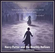 harry potter and the deathly hallows back cover harry vs voldemort
