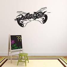 Rockstar Wall Decal Style And Apply