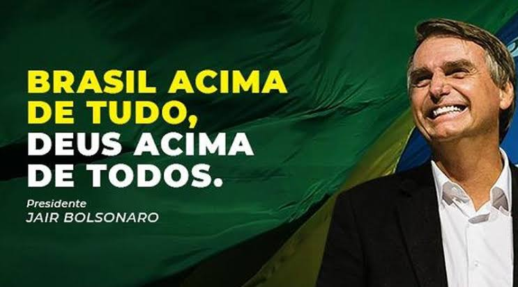 """Resultado de imagem para Fotos do presidente Bolsonaro Brasil acima de tudo < Deus acima de todos"""""""