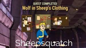 fallout 76 sheepsquatch pt 4 wolf in