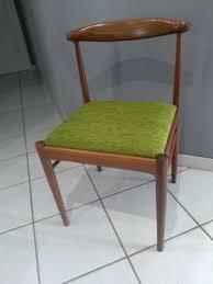 danish teak dining chairs 1960s set