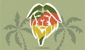 reggae wallpaper vector