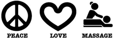Amazon Com Pressfans Peace Love Massage Car Laptop Wall Sticker Automotive