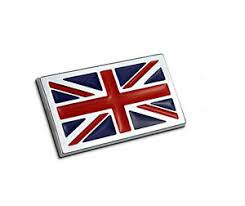 Metal The Union Jack Car Sticker Badge British Flag Auto Doors Decal Rear Emblem Ebay