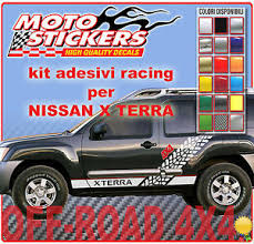 Stickers Off Road 4x4 Nissan Xterra Stickers Kit Sides Racing Ebay