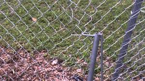 How To Patch And Repair A Chain Link Fence Diy Youtube