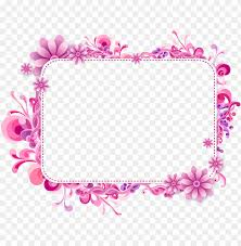 ink and purple vector frame y