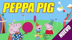 Peppa Pig Tarjeta Digital Invitacion Peppa Pig Peppa Pig