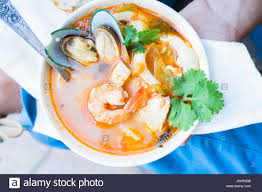 Bouillabaisse french seafood soup Stock ...