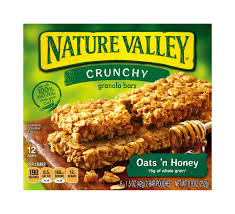 crunchy oats n honey granola bars