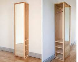 rotating hall mirror storage unit from