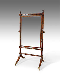 regency cheval mirror antique cheval