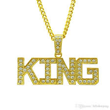luxurious mens hip hop gold plated