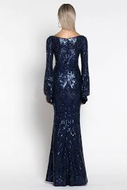 Abigail Bell Sleeve Sequin Gown – Frockaholics at Momento Dezigns