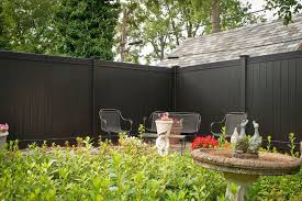 Vinyl Fencing Hawaii With Traditional Landscape And Black Black Fencing Black Fencing Panels Fencing Fencing Panels Painted Wood Fence Privacy Fence Pvc Fence Stained Fence Vinyl Fence Wood Fencing Finefurnished Com