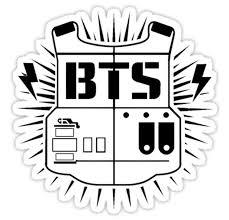 Bts Army Black Sstk052 K Pop Music Brand Car Window Decal Sticker Animestickershop