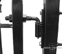 Iron And Aluminum Gate Hinge Options Iron Fence Shop Blog
