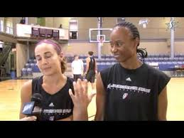 The Teammate Game with Becky Hammon and Vickie Johnson - YouTube