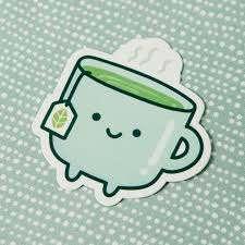 Tea Vinyl Decal Sticker Free Period Press