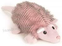 og pink fairy armadillo with chew