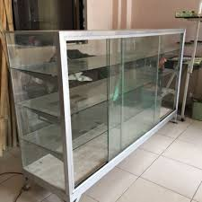 glass display cabinet home furniture
