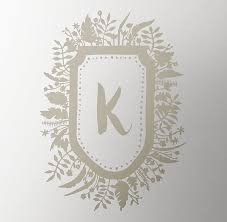 Woodland Crest Initial Wall Decal