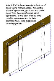 patio enclosures roller blinds diy