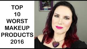 top 10 worst makeup s of 2016