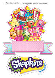 Pin De Perla Perosio En Shopking Shopkins Fiesta Imprimibles