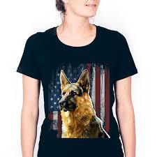 german shepherd american flag dog gifts