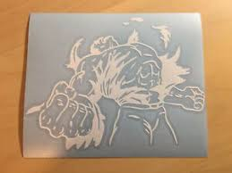 Green Hulk Decal Car Window Sticker Marvel In White Vinyl Ebay