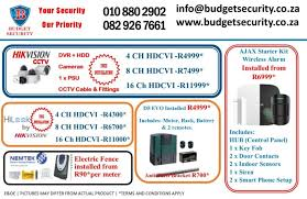 Cctv Alarms Electric Fencing Johannesburg South Gumtree Classifieds South Africa 608407652