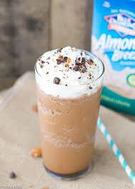 almond milk mocha frappuccino
